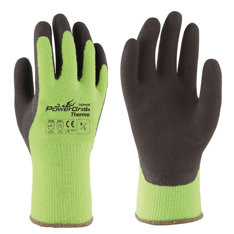 TOWA PowerGrab Thermo Grip Gloves x6