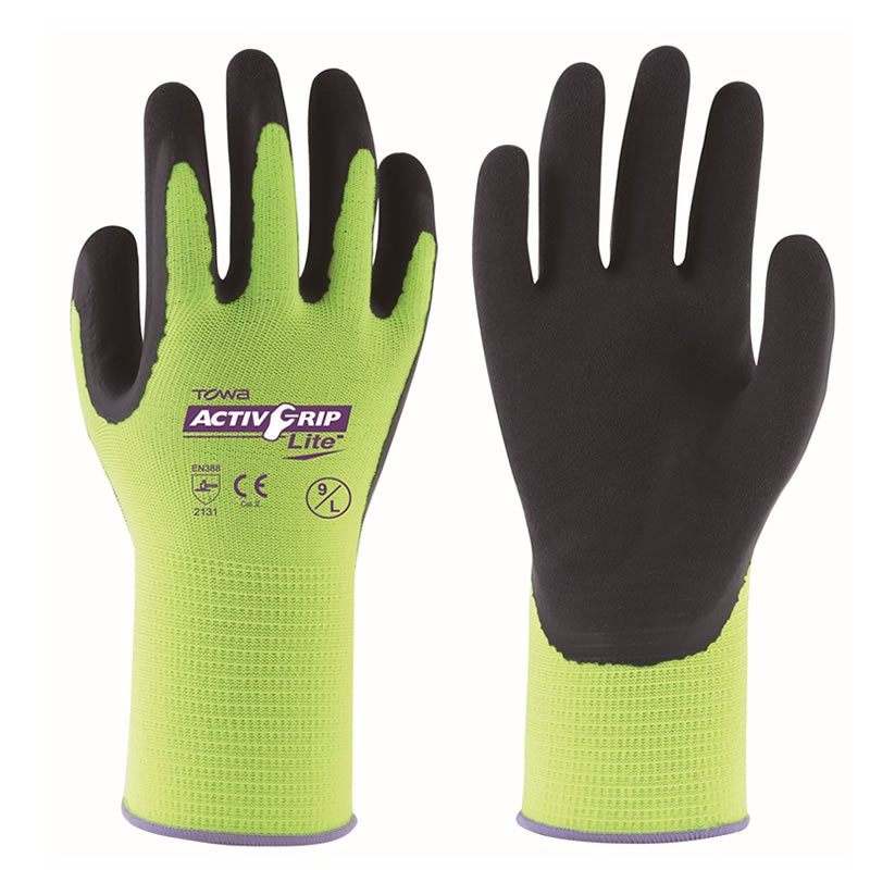 TOWA ActivGrip Lite Grip Gloves x6