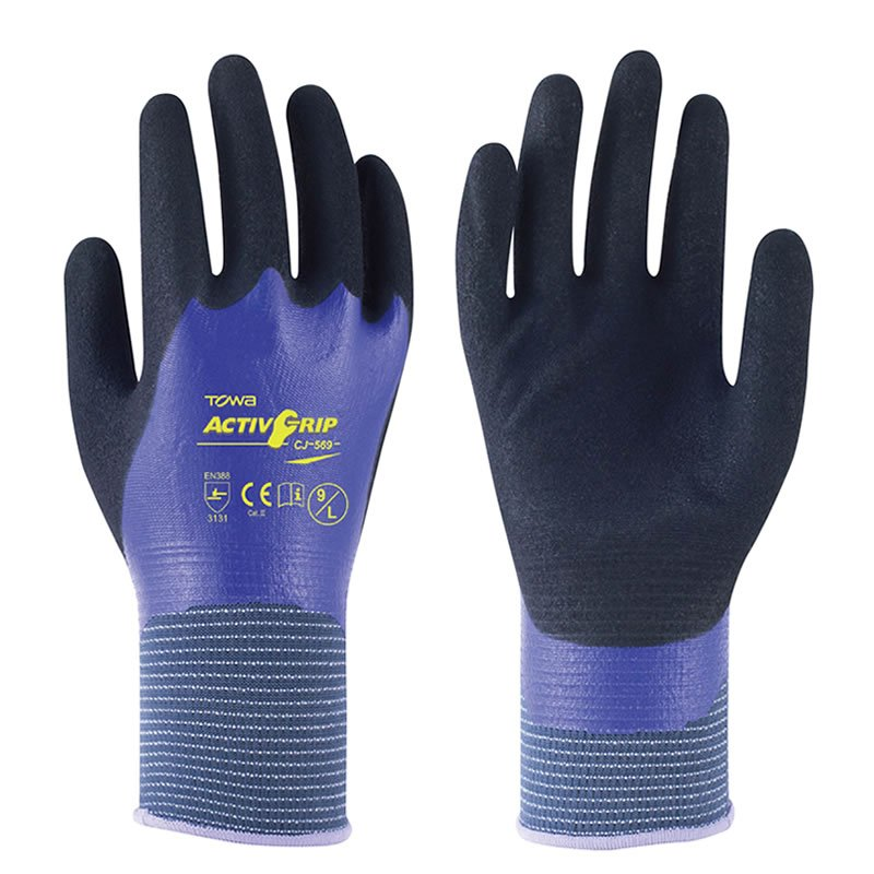TOWA ActivGrip CJ Grip Gloves x6